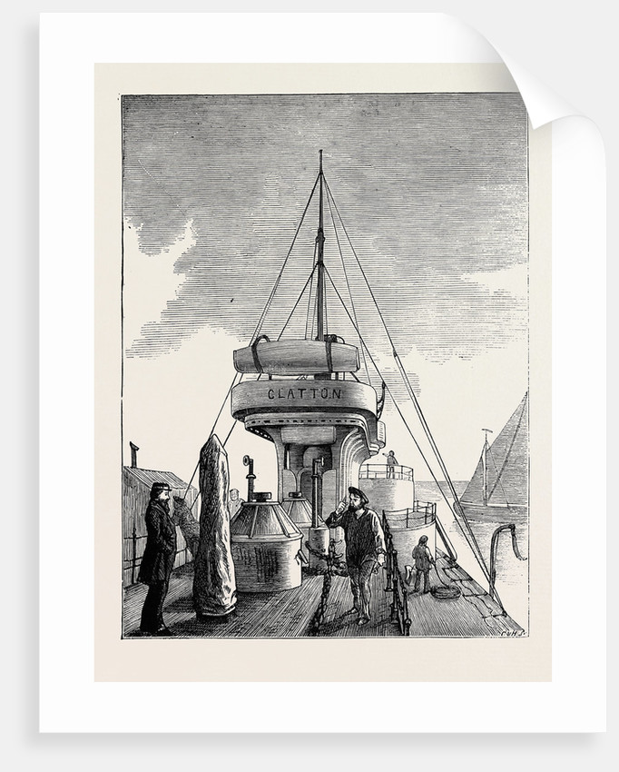 The Navy, H.M.S. Glatton: The Middle Deck by Anonymous