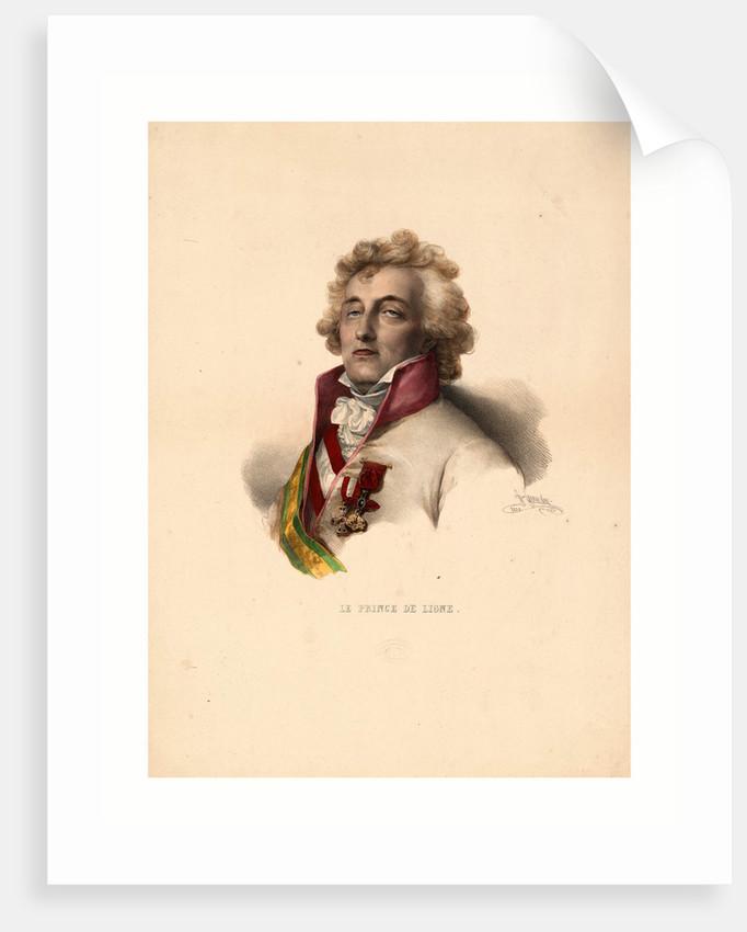 Head-and-Shoulders Portrait of Prince De Ligne by Anonymous