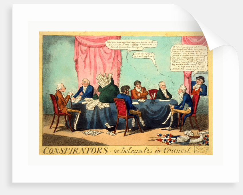Conspirators; or by Anonymous