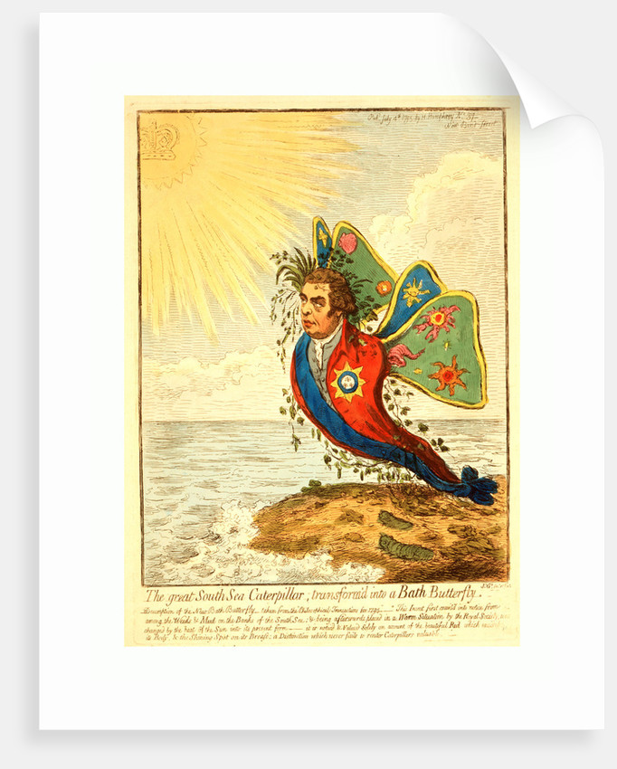 The Great South Sea Caterpillar by Anonymous
