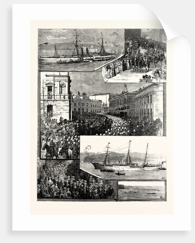 Departure of the New South Wales Contingent from Sydney for the Soudan by Anonymous