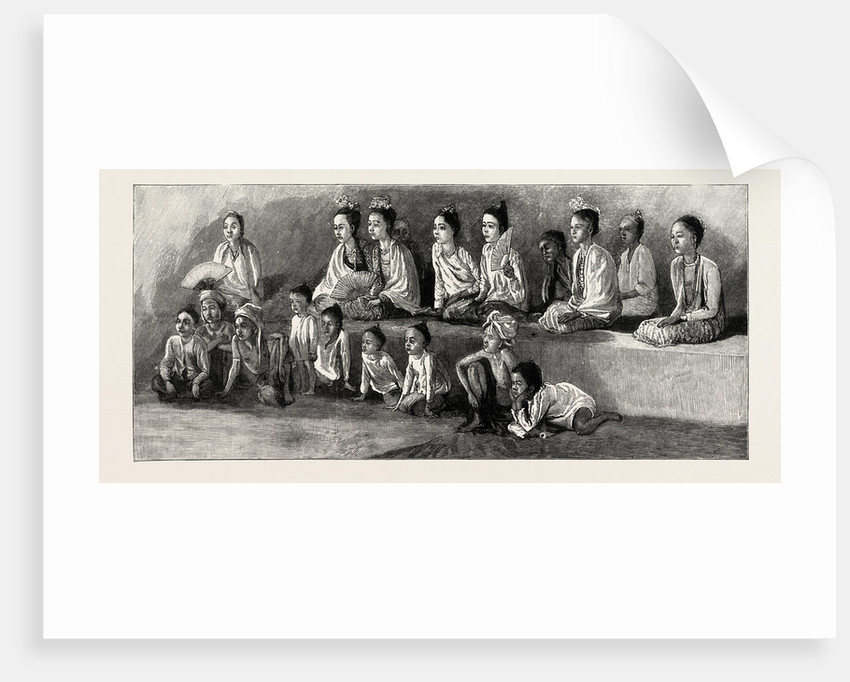 At a Burmese Pooey (Play) by Anonymous