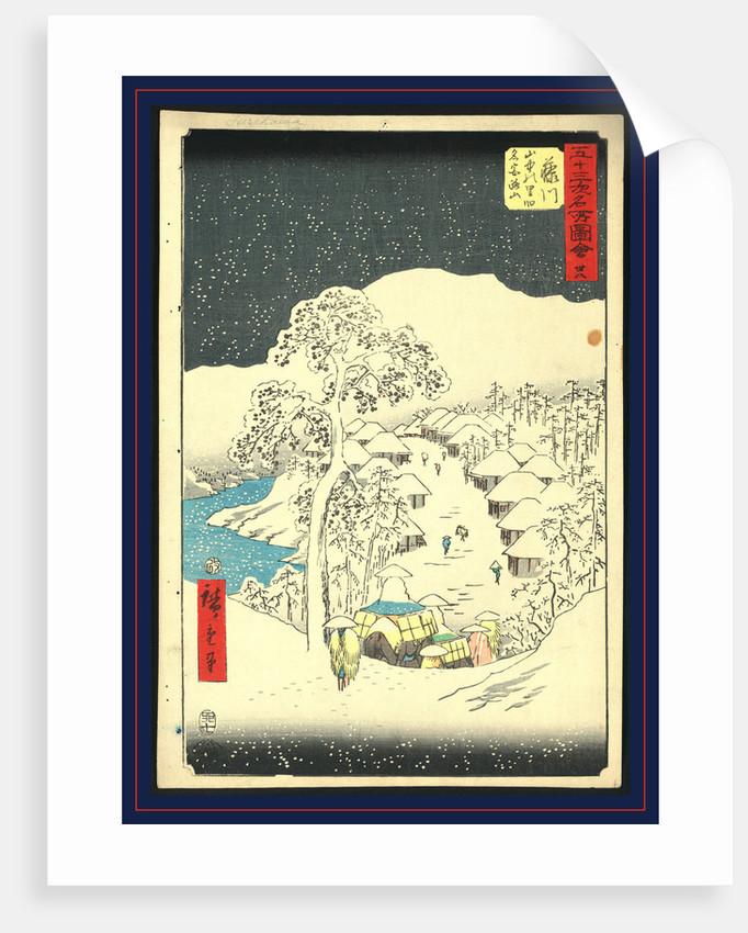 Fujikaw by Ando Hiroshige