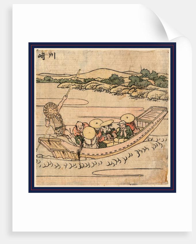 Kawasak by Katsushika Hokusai