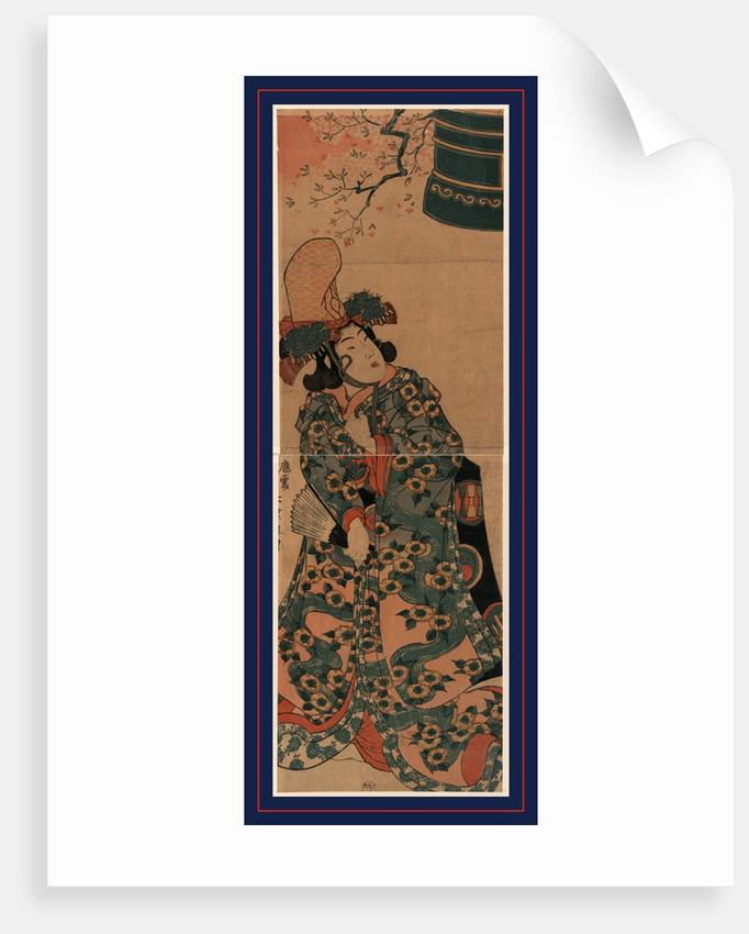 Musume Dojoji, Young Maiden of Dojoji (Musume Dojoji) by Anonymous