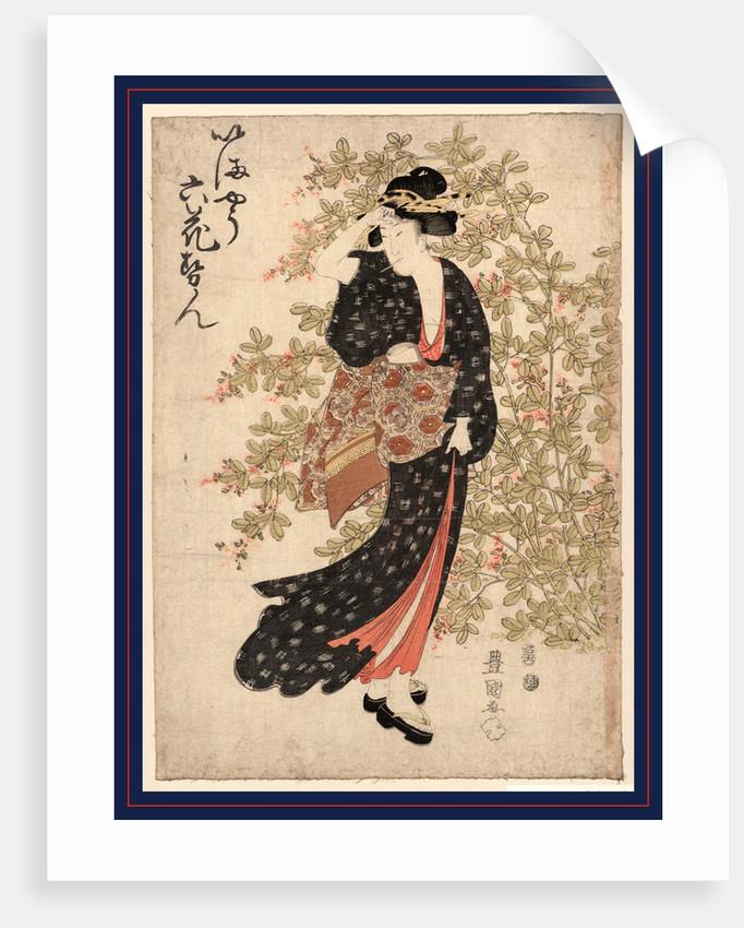 Hagi, Bushclover by Utagawa Toyokuni