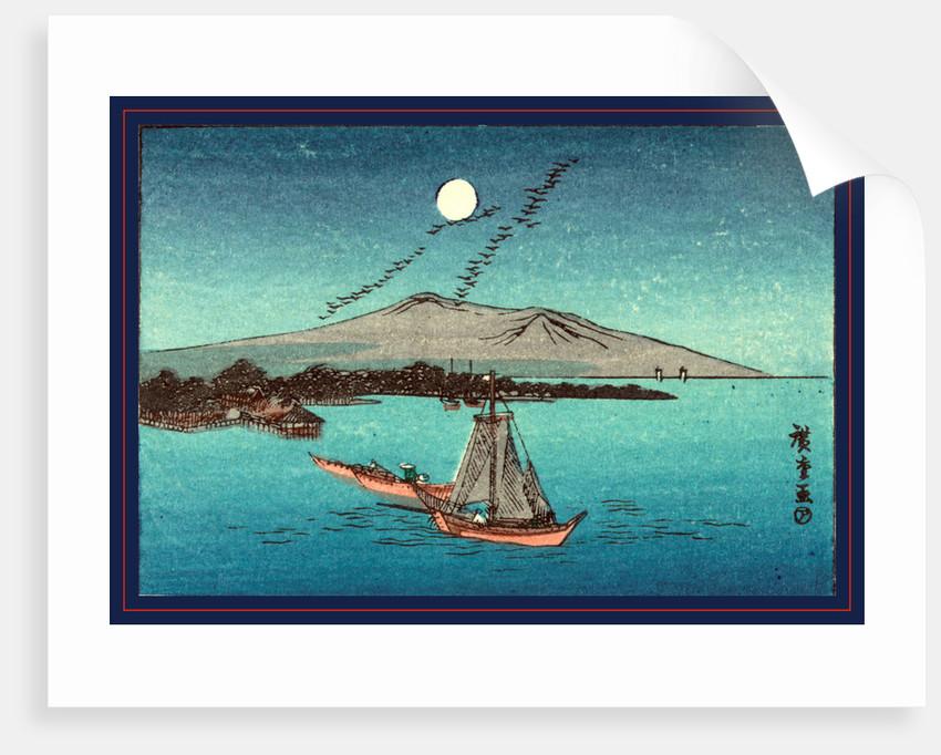Fukeiga, from an earlier print by Ando Hiroshige