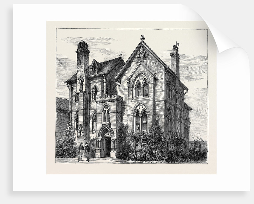 House at Oxford Where Prince Leopold Resided by Anonymous