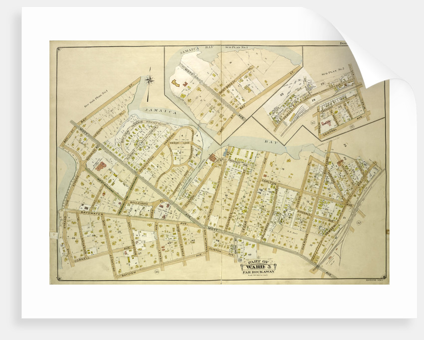 Map bounded by Batler Ave., Wolcott Ave., Mc. Neil Ave; Including Central Ave., Seneca St., New York by Anonymous