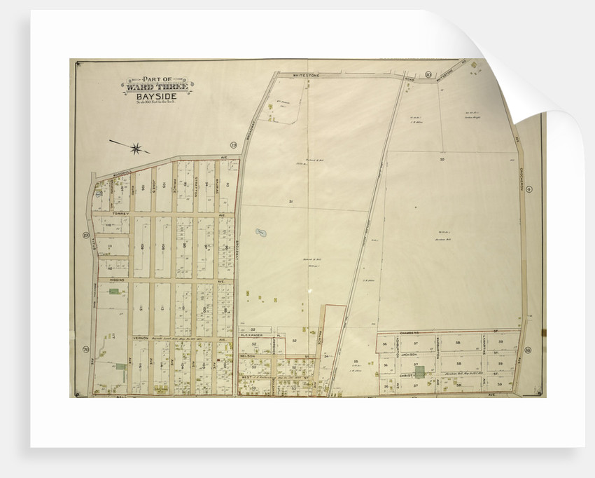 Map bounded by Titus Ave., Rocky Hill Road, Woodhull Ave., Bradford Ave., Torrey Ave., Higgins Ave., Hurd Ave., Jones Ave., Prince Ave., Stratton Ave., Mauriac Ave., Vernon, New York by Anonymous