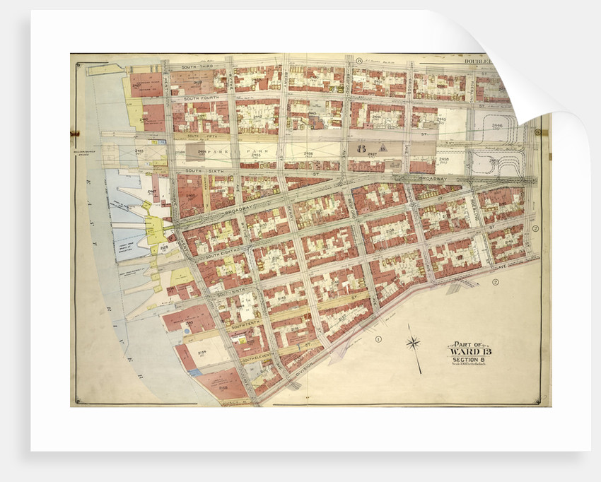 Map Bounded By South Third St Haveneyer St Including Division Ave