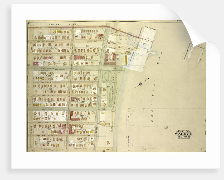 Map bounded by 23rd Ave., Warehouse Ave., 20th Ave., Benson Ave., New York by Anonymous