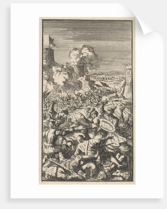 Siege Of Nicosia By The Ottoman Army Posters Prints By Jan Luyken