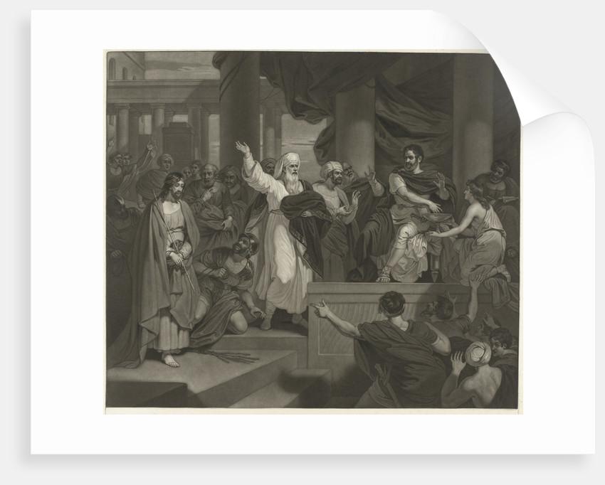 Christ before Pilate by Robert Smirke