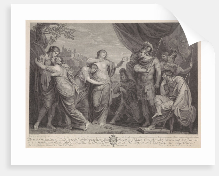 Eteocles and Polynices by Pieter Franciscus Martenasie