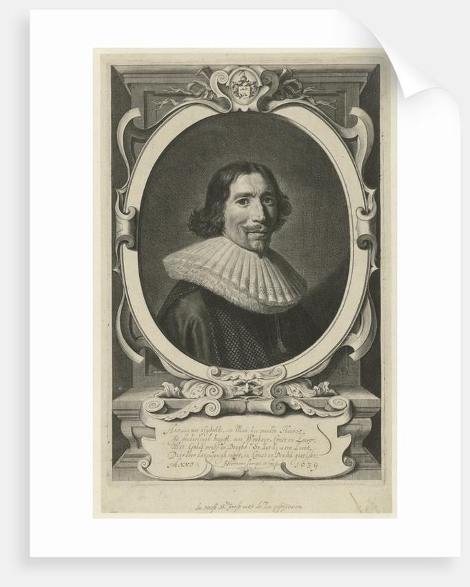 Portrait of Henry Meurs by J. Hermans
