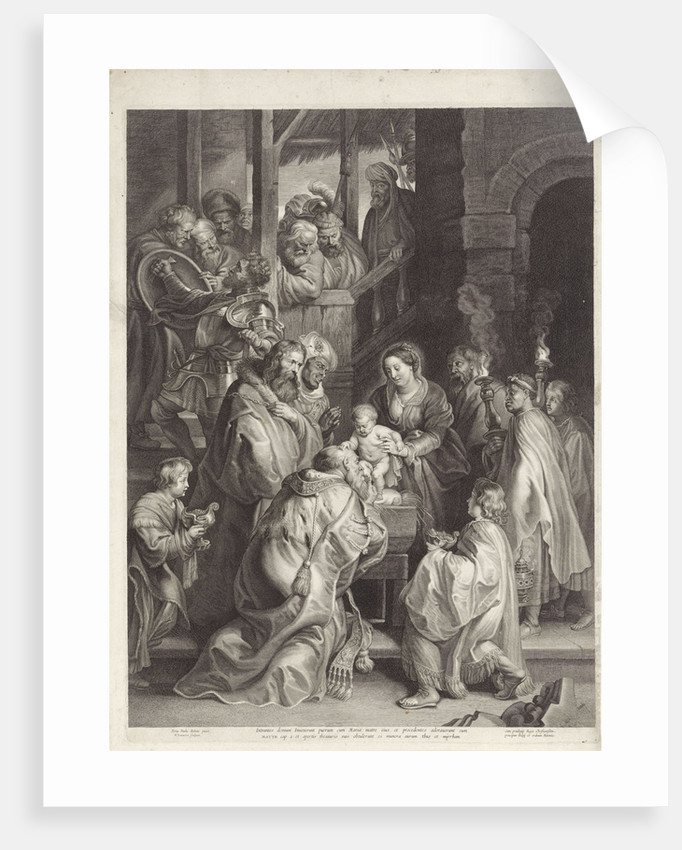 Adoration of the Magi, Nicolaes Lauwers by Filips IV
