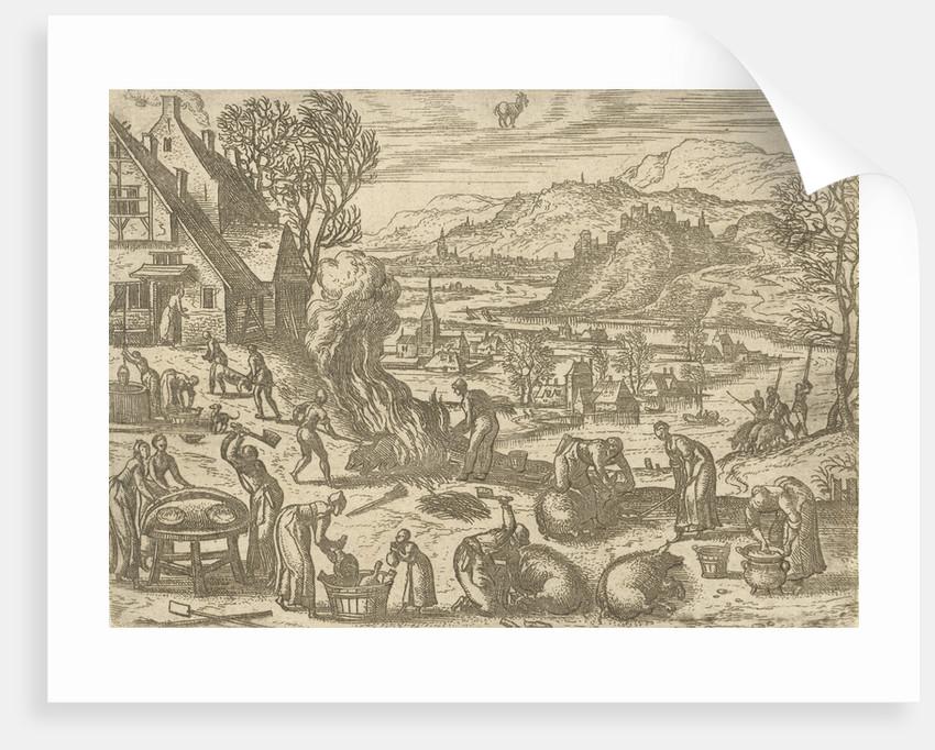 December by Pieter van der Borcht I