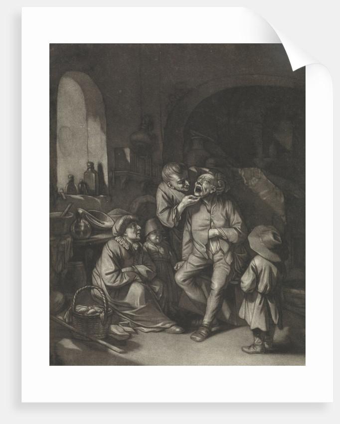 Dentist by Cornelis Pietersz. Bega