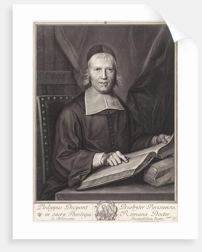 Portrait of Philippe Despont by Pieter van Schuppen