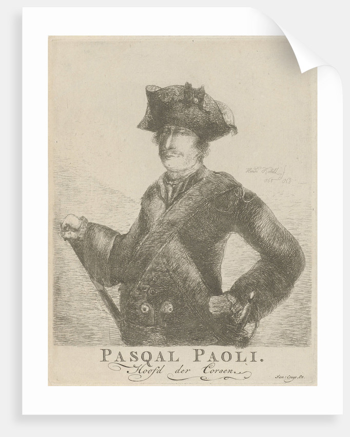 Portrait of General Pascal Paoli by Samuel Cruys