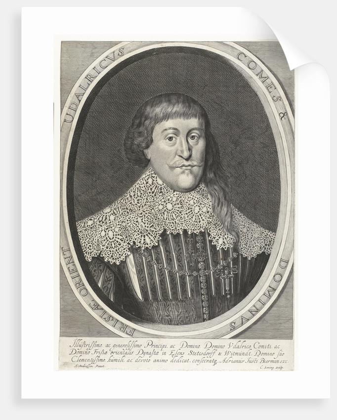 Portrait of Udalricus of East Friesland by Adriaan Justus Bierman