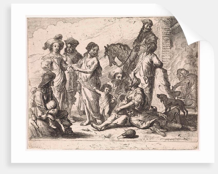 Fortuneteller by Cornelis de Wael