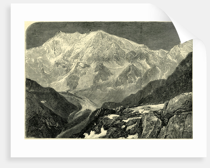 Monte Rosa from the Monte Moro Switzerland by Anonymous