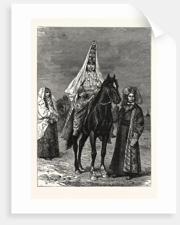 A Kirghiz Bride by Anonymous