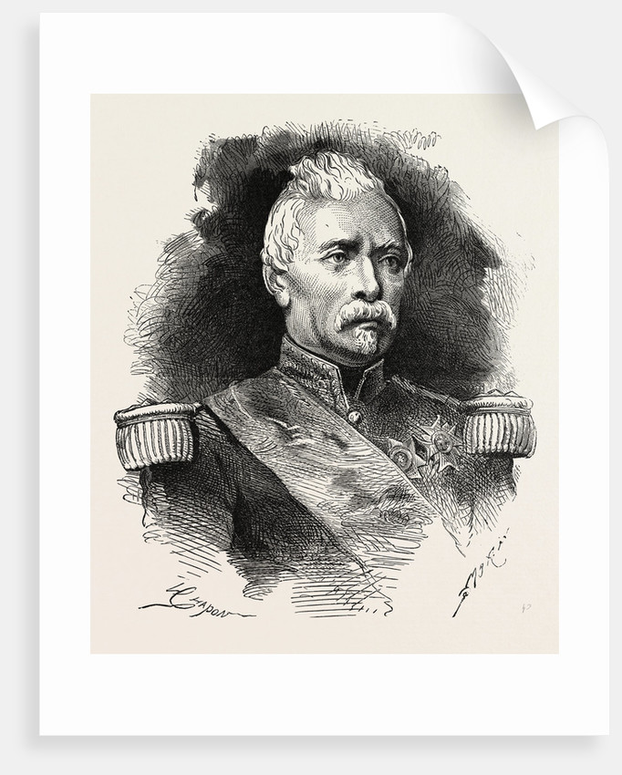 General D'Aurelle De Paladine, Commander of the Army of the Loire, France by Anonymous