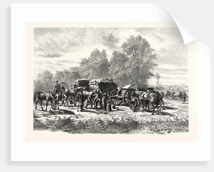 Field Smithy or Forge, at a Field Artillery Regiment by Anonymous