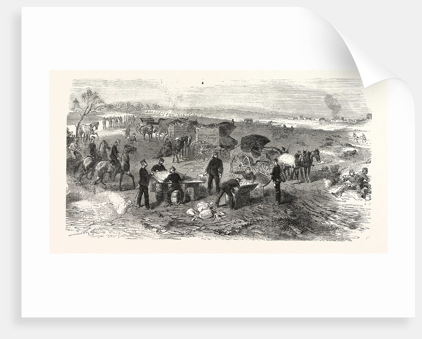 A Field Expedition Post on the Battlefield of St. Privat on 19 August 1870 by Anonymous