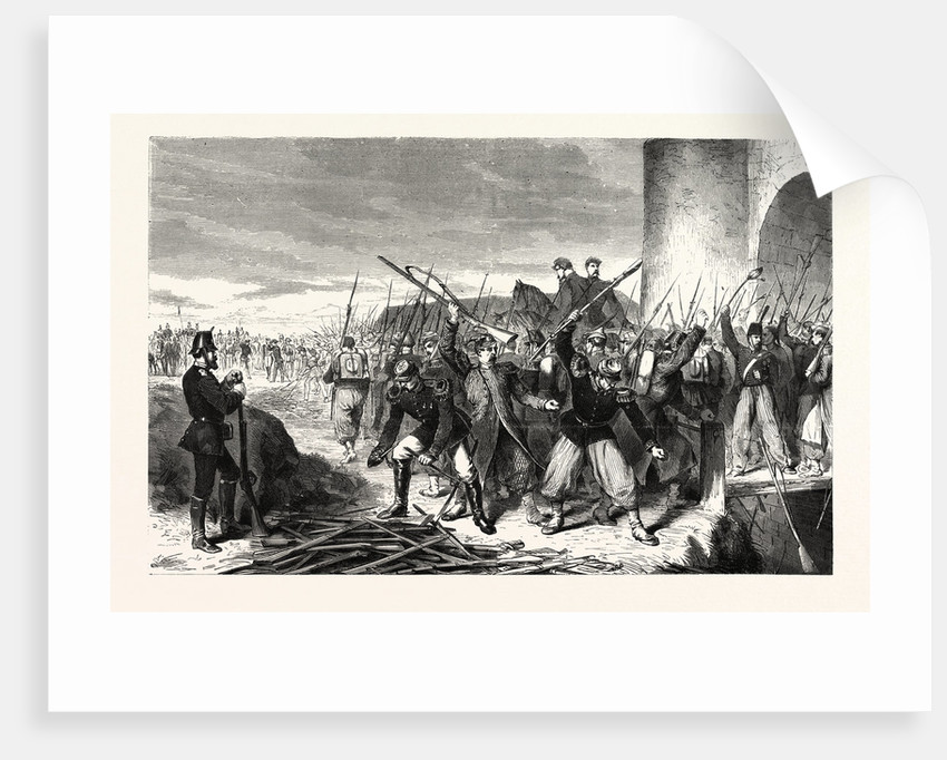 Garrison of Strasbourg Leaving after the Surrender, September 28 1870 by Anonymous