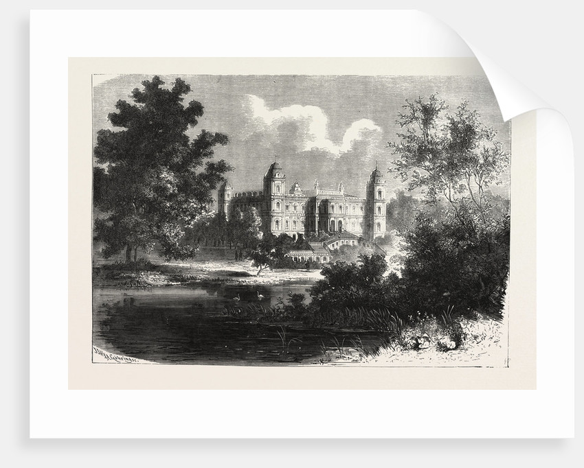 Ferrieres Castle Near Paris, Having Served As the Headquarters of the King of Prussia, 19 September 5 October 1870 by Anonymous
