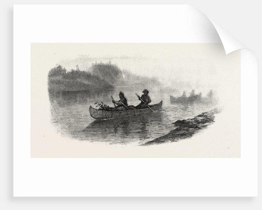 Georgian Bay and the Muskoka Lakes, Indian Women Carrying Berries to Market, Canada by Anonymous