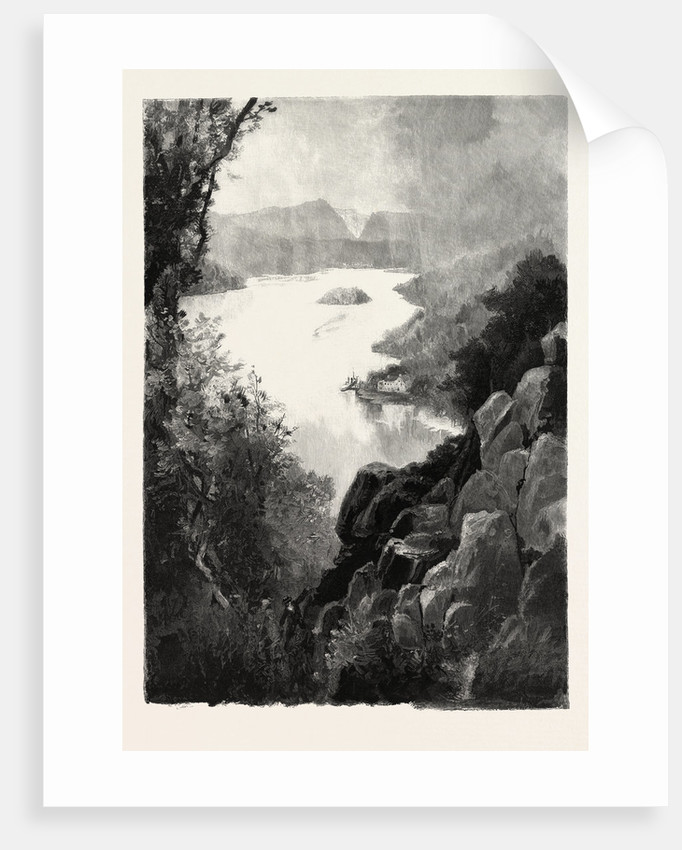 Lake Memphremagog, from Owl's Head, Canada by Anonymous