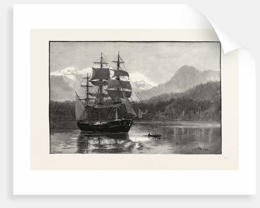 British Columbia, Port Moody, Vessel Containing First Shipment of Canada Pacific R.R. Iron, Canada by Anonymous