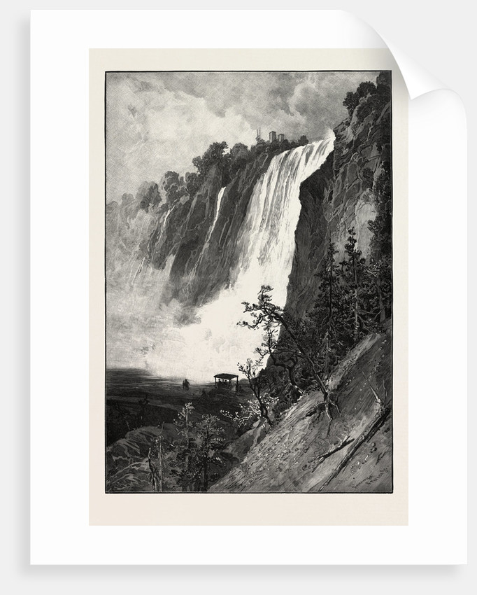 Falls of Montmorency, Canada by Anonymous