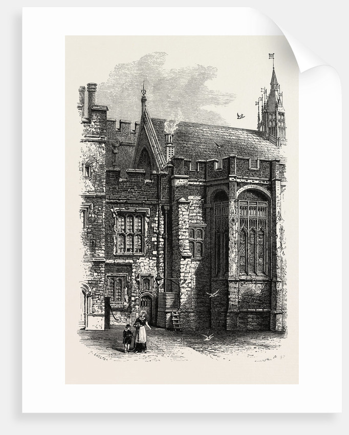 Eton, the College Hall by Anonymous