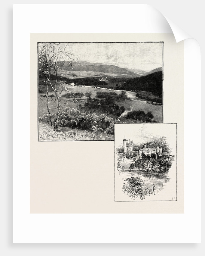 Balmoral and Balmoral Castle by Anonymous