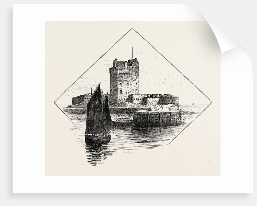 Broughty Ferry Castle by Anonymous