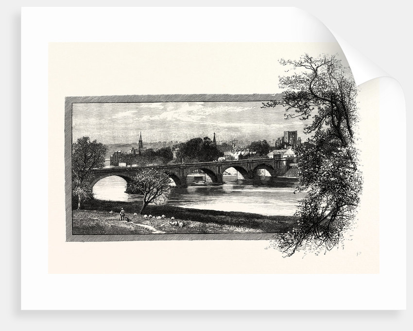 Kelso, with Rennie's Bridge by Anonymous