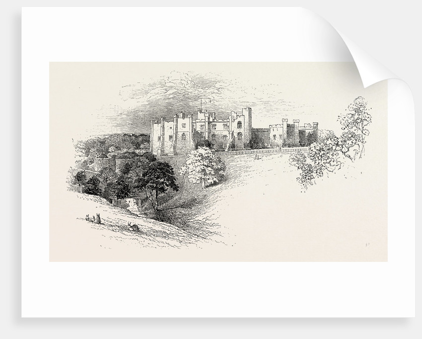 Brancepeth Castle by Anonymous