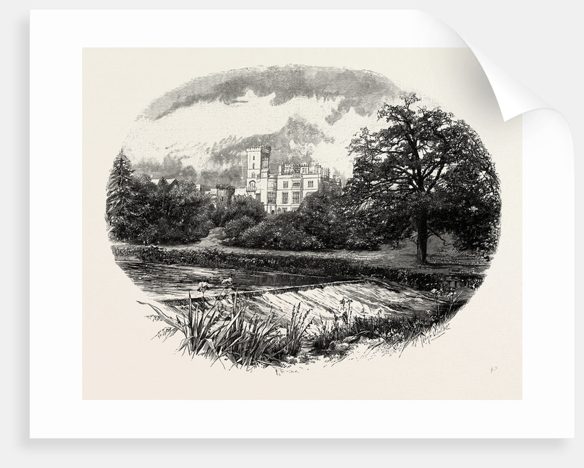 Ilam Hall by Anonymous