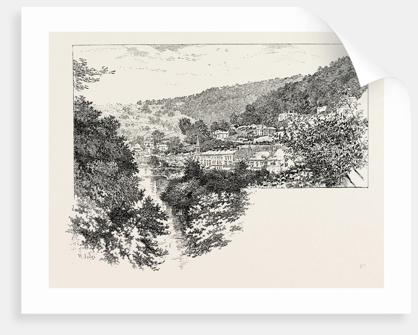 Derwent Terrace, Matlock by Anonymous