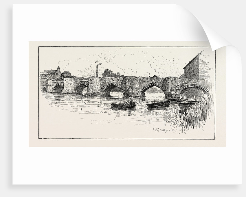Huntingdon Bridge by Anonymous