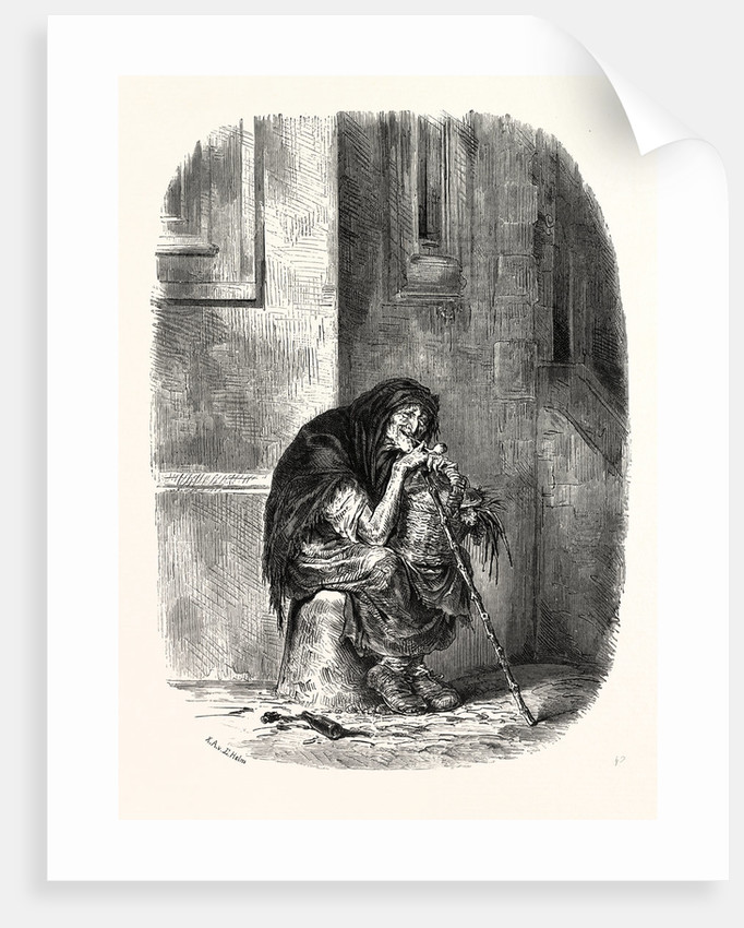 A Strasbourg Beggar by Anonymous
