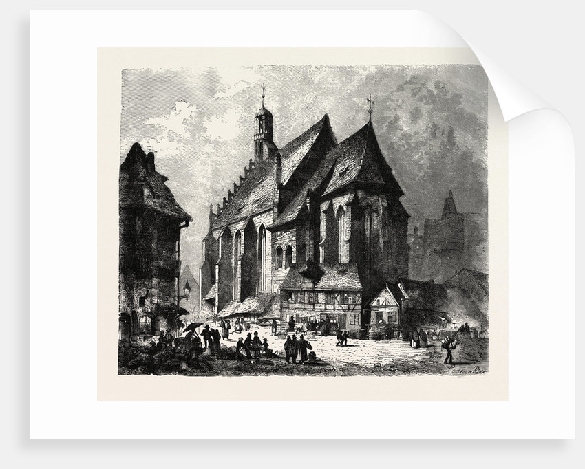 Church of St. Lawrence, Nuremberg, Germany by Anonymous