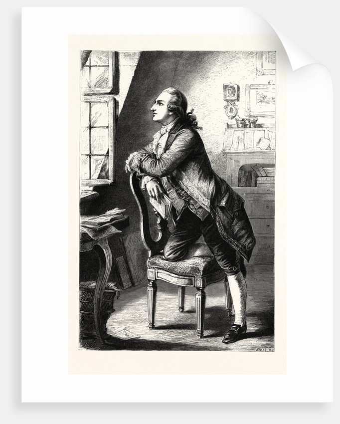 Goethe at Home by Anonymous