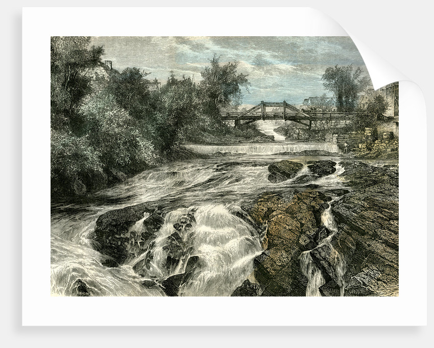 Falls of Lorette Canada 19th Century by Anonymous